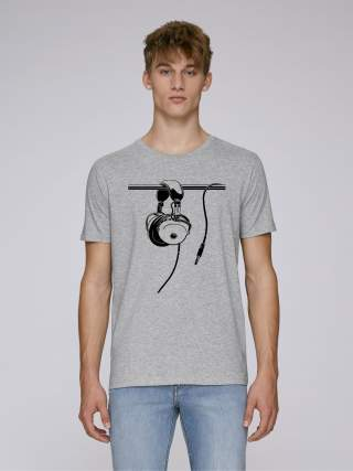 Headphones men's t-shirt