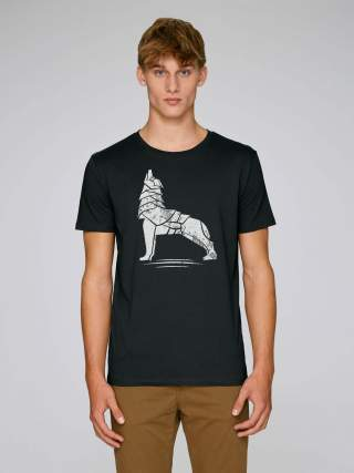 Iron wolf men's t-shirt