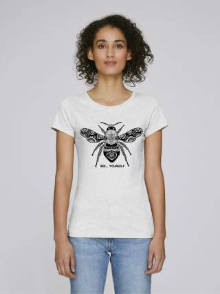 Bee yourself women's t-shirt