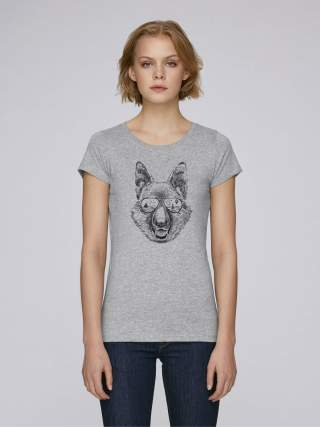German shepherd women's t-shirt