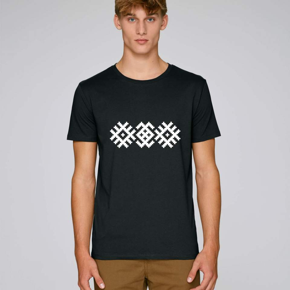 Ethnic pattern men's t-shirt