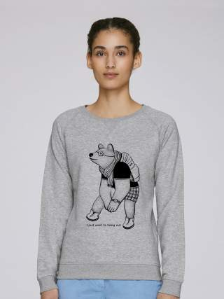 Bear with a backpack Sweatshirt