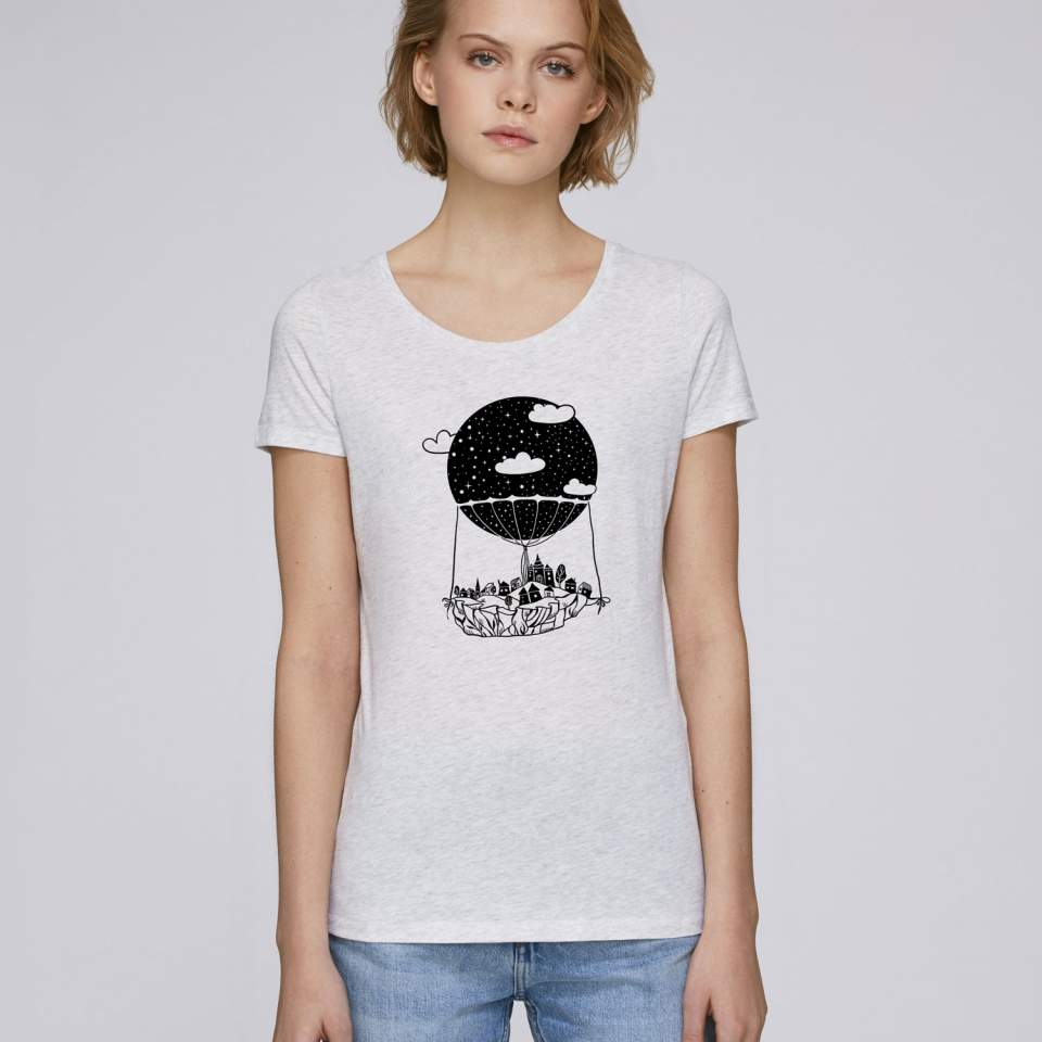 Hot Air Balloon women's t-shirt