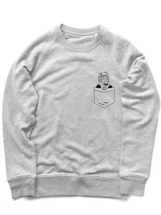 Monkey in the pocket Sweatshirt