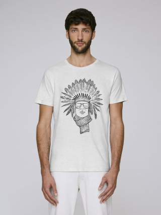 Red indian men's t-shirt
