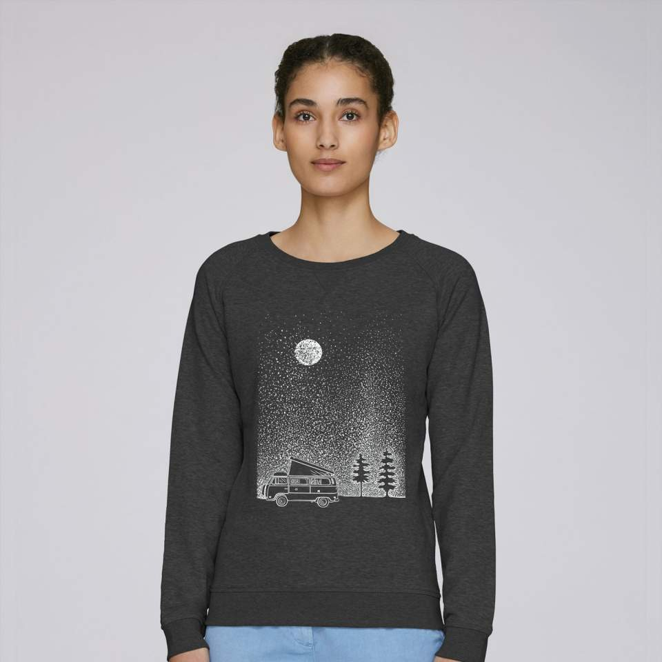 Camper and stars Sweatshirt
