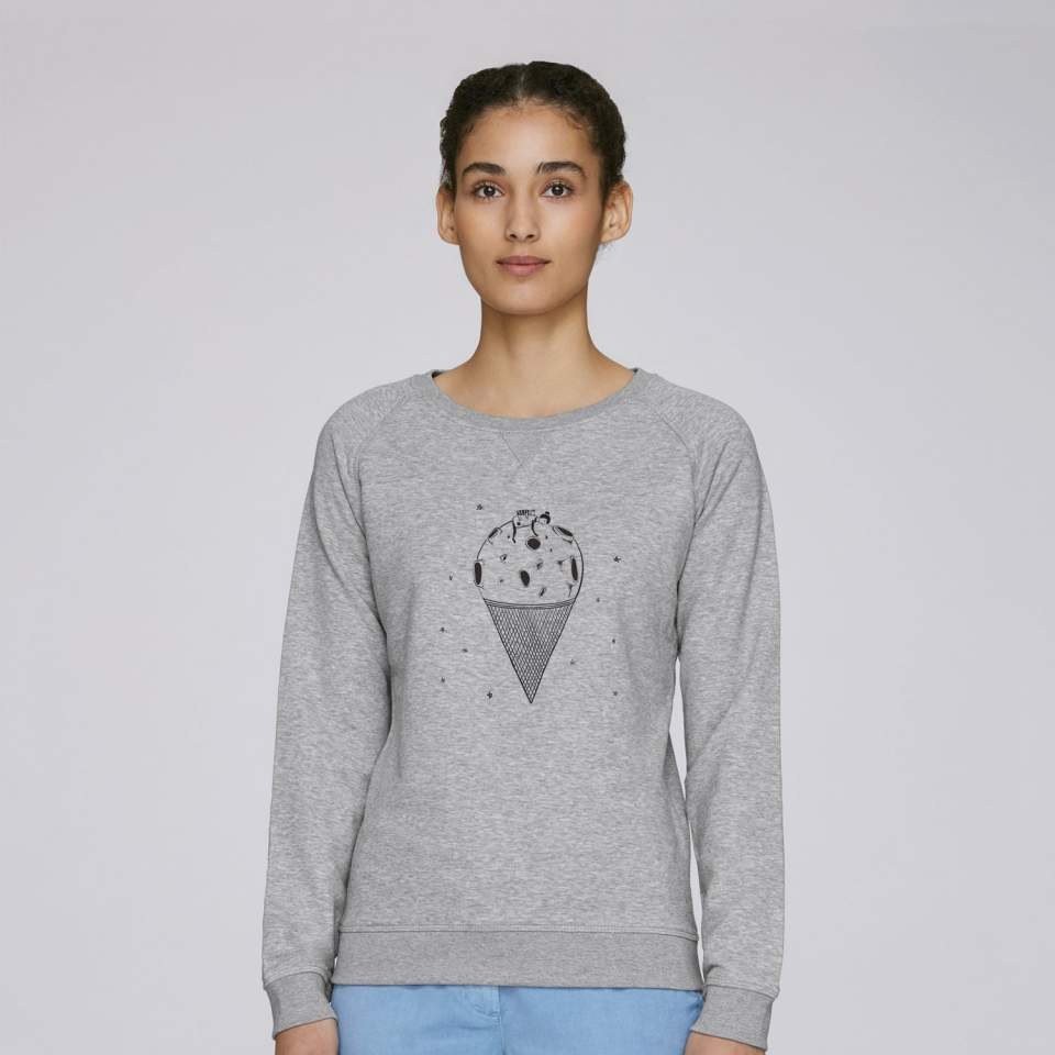 Moon Ice Cream Sweatshirt
