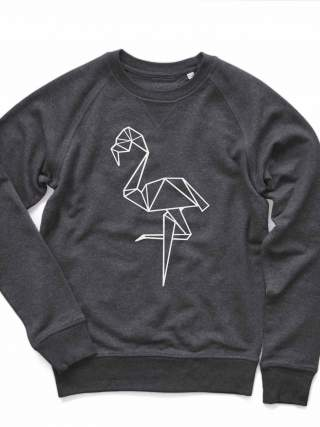 Geometric Flamingo Sweatshirt