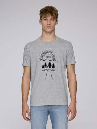 "Men's t-shirt ""For adventure seekers"""