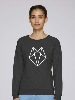 Geometric Fox Sweatshirt